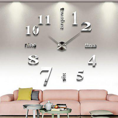 T4215 DIY Clock Design Wall Sticker