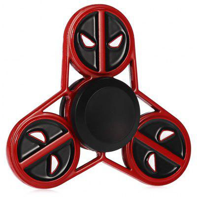 Cute Round Face Devil Alloy Fidget Tri-spinner