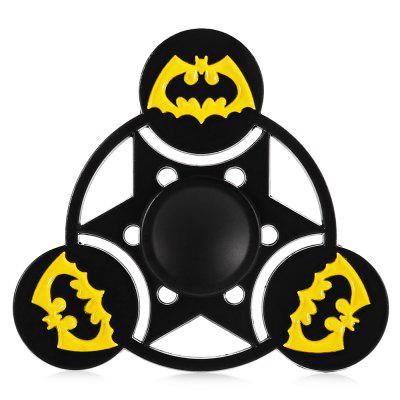 Bat Cloak Pattern Alloy ADHD Fidget Tri-spinnerFidget Spinners<br>Bat Cloak Pattern Alloy ADHD Fidget Tri-spinner<br><br>Center Bearing Material: Stainless Steel<br>Frame material: Alloy<br>Package Contents: 1 x Fidget Spinner, 1 x Fidget Spinner<br>Package size (L x W x H): 9.00 x 11.00 x 1.50 cm / 3.54 x 4.33 x 0.59 inches, 9.00 x 11.00 x 1.50 cm / 3.54 x 4.33 x 0.59 inches<br>Package weight: 0.0770 kg, 0.0770 kg<br>Product size (L x W x H): 5.80 x 5.80 x 1.20 cm / 2.28 x 2.28 x 0.47 inches, 5.80 x 5.80 x 1.20 cm / 2.28 x 2.28 x 0.47 inches<br>Product weight: 0.0460 kg, 0.0460 kg<br>Swing Numbers: Tri-Bar<br>Type: Bat, Triple Blade, Cool