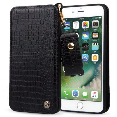 Crocodile Print Cover Case for iPhone 7 Plus