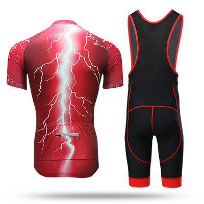 XINTOWN Male Quick-drying Short Sleeves Cycling SuitCycling Clothings<br>XINTOWN Male Quick-drying Short Sleeves Cycling Suit<br><br>Brand: XINTOWN<br>Material: Polyester, Spandex<br>Package Contents: 1 x Cycling Tops, 1 x Pants<br>Package size (L x W x H): 34.00 x 30.00 x 3.00 cm / 13.39 x 11.81 x 1.18 inches<br>Package weight: 0.4450 kg<br>Product size (L x W x H): 34.00 x 30.00 x 3.00 cm / 13.39 x 11.81 x 1.18 inches<br>Product weight: 0.4250 kg<br>Size: L