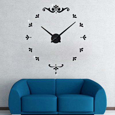 M.Sparkling 3M012 DIY Creative Classic Style Wall ClockClocks<br>M.Sparkling 3M012 DIY Creative Classic Style Wall Clock<br><br>Brand: M.Sparkling<br>Package Contents: 1 x Wall Clock<br>Package size (L x W x H): 42.00 x 14.00 x 4.50 cm / 16.54 x 5.51 x 1.77 inches<br>Package weight: 0.4700 kg<br>Product size (L x W x H): 100.00 x 100.00 x 4.00 cm / 39.37 x 39.37 x 1.57 inches<br>Product weight: 0.3800 kg<br>Shape: Round<br>Time Display: Analog<br>Type: Wall Clock
