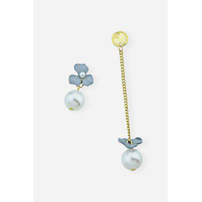 Women Alloy Pearl Delicate Flowers EarringsEarrings<br>Women Alloy Pearl Delicate Flowers Earrings<br><br>Fabric: Alloy,Pearl<br>Jewelry Silhouette: Stud<br>Occasions: Party<br>Package Contents: 1 x Pair of Earrings, 1 x Box<br>Package size (L x W x H): 8.40 x 5.00 x 2.40 cm / 3.31 x 1.97 x 0.94 inches<br>Package weight: 0.0460 kg<br>Product weight: 0.0060 kg<br>Style: Flower<br>Type: Earrings