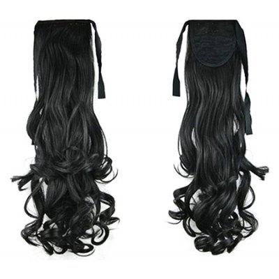 TODO D15 Wig Long Curly Ponytail Hair Extensions
