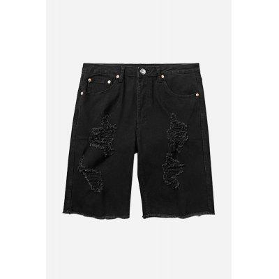 Fashion Men Ripped ShortsMens Shorts<br>Fashion Men Ripped Shorts<br><br>Material: Cotton, Spandex<br>Package Contents: 1 x Shorts<br>Package size: 20.00 x 20.00 x 2.00 cm / 7.87 x 7.87 x 0.79 inches<br>Package weight: 0.4400 kg<br>Product weight: 0.4000 kg