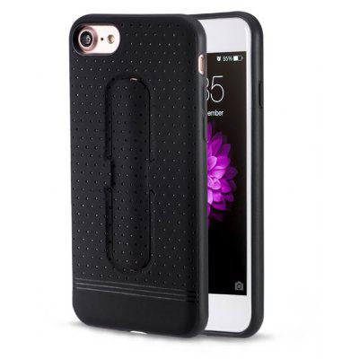 LENUO Invisible Holder PU Cover Phone Case for iPhone 7