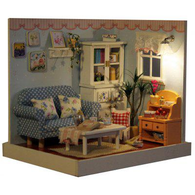 Living Room Wooden Dollhouse