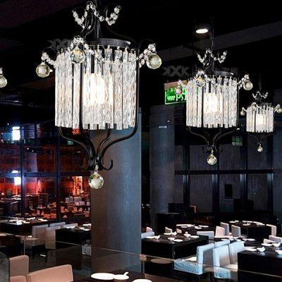European Industrial Style Iron Retro Crystal Pendant Light 220VPendant Light<br>European Industrial Style Iron Retro Crystal Pendant Light 220V<br><br>Battery Included: No<br>Bulb Base: E27<br>Bulb Included: No<br>Chain / Cord Adjustable or Not: Chain / Cord Adjustable<br>Chain / Cord Length ( CM ): 100cm<br>Features: Eye Protection<br>Fixture Height ( CM ): 54cm<br>Fixture Length ( CM ): 23cm<br>Fixture Width ( CM ): 23cm<br>Light Direction: Downlight<br>Light Source Color: Warm White<br>Number of Bulb: 1 Bulb<br>Number of Bulb Sockets: 1<br>Package Contents: 1 x Light, 1 x Assembly Parts<br>Package size (L x W x H): 33.00 x 33.00 x 64.00 cm / 12.99 x 12.99 x 25.2 inches<br>Package weight: 5.0300 kg<br>Product weight: 4.0000 kg<br>Remote Control Supported: No<br>Shade Material: Crystal, Iron<br>Style: Modern/Contemporary<br>Suggested Room Size: 10 - 15?<br>Suggested Space Fit: Bedroom,Dining Room,Kids Room,Kitchen,Living Room,Study Room<br>Type: Pendant Light, Chandeliers<br>Voltage ( V ): AC220