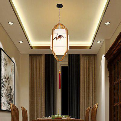 New Chinese Sheepskin Pendant Light 220V