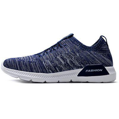 Slip-on Running Sneakers for MenAthletic Shoes<br>Slip-on Running Sneakers for Men<br><br>Closure Type: Lace-Up<br>Contents: 1 x Pair of Shoes<br>Function: Slip Resistant<br>Materials: Fabric, PU<br>Outsole Material: PU<br>Package Size ( L x W x H ): 30.00 x 18.00 x 12.00 cm / 11.81 x 7.09 x 4.72 inches<br>Type: Sports Shoes<br>Upper Material: Cotton Fabric