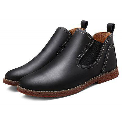Medium Top Fashion Ankle Boots for Men