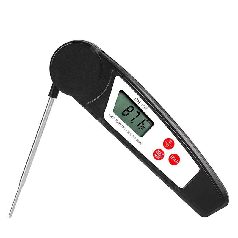 Food Foldable Digital Display Thermometer