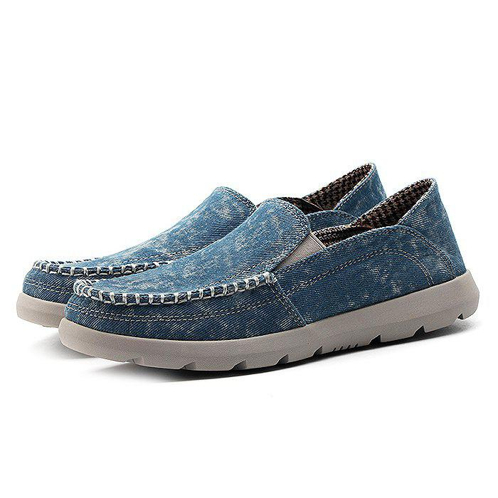 Plus Size Slip-on Casual Canvas Shoes for Men