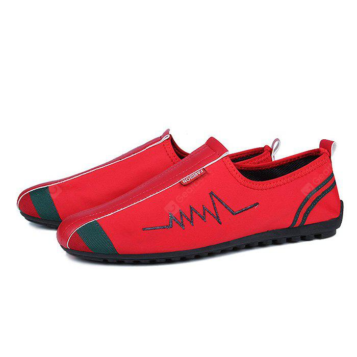 Chic Split Joint Casual Flat Soles Shoes for Men