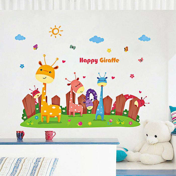 DIY Cartoon Animals Design Sticker