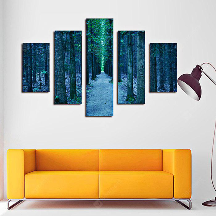 5PCS Print Path Wall Decor for Home Decoration