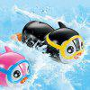 Wind Up Swimming Penguin Bath Toy - COLORMIX