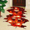 Creative 3D Volcanic Magma Home Decor Wall Sticker - COLORMIX