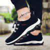 Fashion Suede Outdoor Hiking Shoes for Men - BLACK