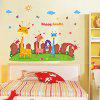 DIY Cartoon Animals Design Sticker - COLORMIX
