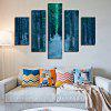 5PCS Print Path Wall Decor for Home Decoration - MULTI