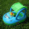 Portable Car Shape Baby Swimming Float Seat Ring - WINDSOR BLUE