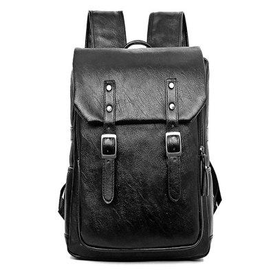 Fashion PU Leather Laptop Backpack for MenBackpacks<br>Fashion PU Leather Laptop Backpack for Men<br><br>Material: PU<br>Package Size(L x W x H): 30.00 x 15.00 x 50.00 cm / 11.81 x 5.91 x 19.69 inches<br>Package weight: 1.2200 kg<br>Packing List: 1 x Backpack<br>Product Size(L x W x H): 29.00 x 14.00 x 40.00 cm / 11.42 x 5.51 x 15.75 inches<br>Product weight: 1.0000 kg<br>Style: Business, Casual<br>Type: Backpacks