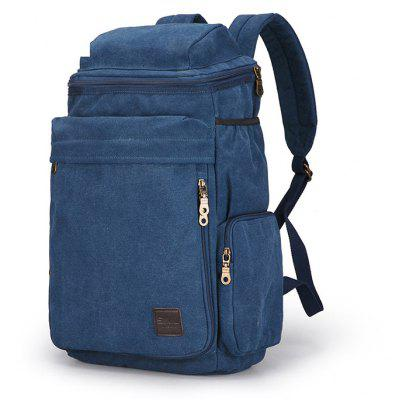 Buy BLUE Outdoor Multifunctional Backpack for Climbing / Hiking for $38.99 in GearBest store