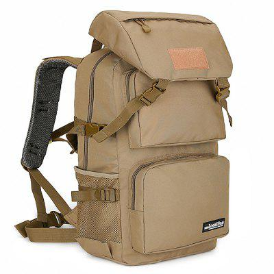 Buy COFFEE Outdoor Large Capacity Water-resistant Sport Backpack for Climbing / Hiking for $33.99 in GearBest store