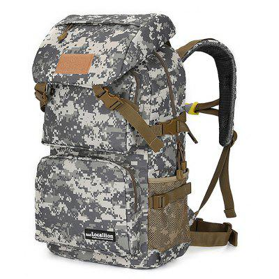 Buy ACU CAMOUFLAGE Outdoor Large Capacity Water-resistant Sport Backpack for Climbing / Hiking for $33.99 in GearBest store