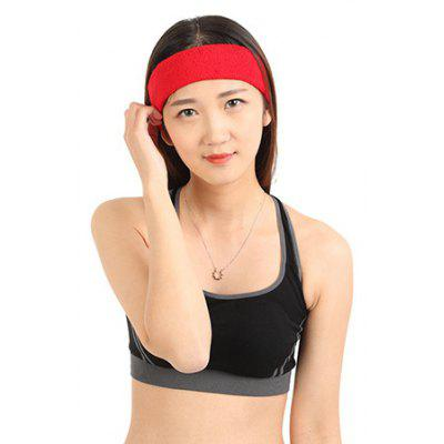 Male Female Ventilate Sweat Absorbing Sports Headband
