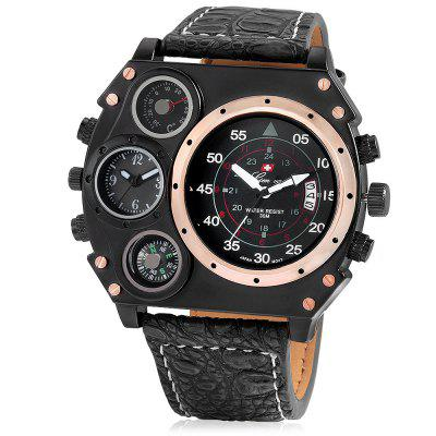 GENEVA 488 Double Movt Quartz Men WatchMens Watches<br>GENEVA 488 Double Movt Quartz Men Watch<br><br>Band material: Leather<br>Brand: Geneva<br>Case material: Alloy<br>Clasp type: Pin buckle<br>Display type: Analog<br>Hour formats: 12 Hour<br>Movement type: Double-movtz<br>Package Contents: 1 x Watch, 1 x Box<br>Package size (L x W x H): 34.50 x 14.00 x 6.30 cm / 13.58 x 5.51 x 2.48 inches<br>Package weight: 0.1700 kg<br>Product size (L x W x H): 26.00 x 6.00 x 1.20 cm / 10.24 x 2.36 x 0.47 inches<br>Product weight: 0.1200 kg<br>The band width: 2.3cm<br>The dial diameter: 6cm<br>The dial thickness: 1.2cm<br>Watches categories: Men<br>Water resistance: No<br>Wearable length: 19.5 - 23.5cm
