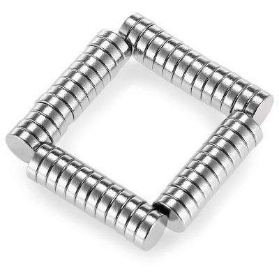 50pcs N38 6 x 2mm Mini NdFeB Cylinder Magnet