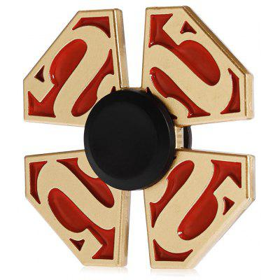 Four-leaf S Pattern Alloy ADHD Fidget Spinner