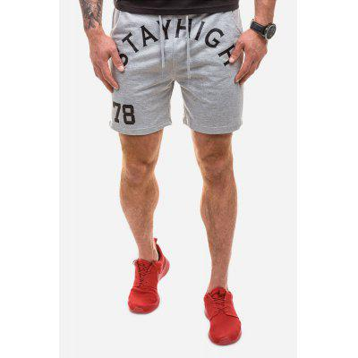 Men Athletic Casual Fashion Leisure Sports Shorts