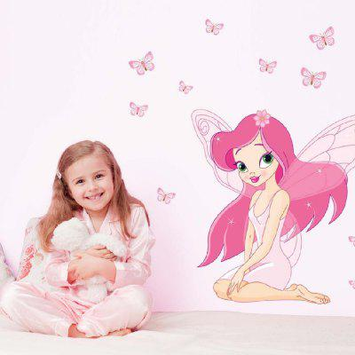 Cartoon Beautiful Girl PVC Waterproof Wall StickerWall Stickers<br>Cartoon Beautiful Girl PVC Waterproof Wall Sticker<br><br>Art Style: Plane Wall Stickers<br>Hang In/Stick On: Bathroom,Bedrooms,Kids Room<br>Material: Vinyl(PVC)<br>Package Contents: 1 x Wall Sticker<br>Package size (L x W x H): 50.00 x 5.00 x 5.00 cm / 19.69 x 1.97 x 1.97 inches<br>Package weight: 0.1500 kg<br>Product size (L x W x H): 70.00 x 50.00 x 0.30 cm / 27.56 x 19.69 x 0.12 inches<br>Product weight: 0.1100 kg<br>Subjects: People