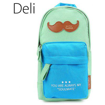 Deli 31718 Pencil Case Bag with Big Capacity