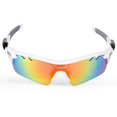 Buy WHITE INBIKE IG916 Protective Polarized Lens Cycling Glasses for $11.99 in GearBest store