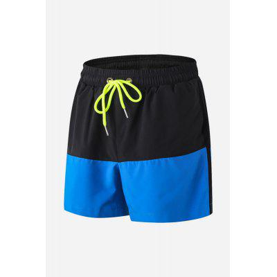 Male Casual Loose Elastic Breathable Quick Drying Sports Shorts