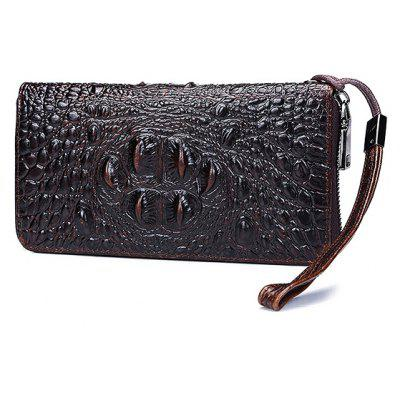 Men Fashion Large Capacity Leather Wallet