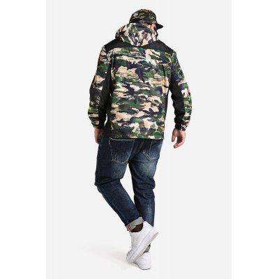 Male Fashionable Camouflage Split Joint Ultra-thin Outdoor Hooded Wind CoatMens Jackets &amp; Coats<br>Male Fashionable Camouflage Split Joint Ultra-thin Outdoor Hooded Wind Coat<br><br>Closure Type: Zipper<br>Clothes Type: Jackets<br>Embellishment: Zippers<br>Materials: Polyester<br>Package Content: 1 x Wind Coat<br>Package Dimension: 20.00 x 20.00 x 2.00 cm / 7.87 x 7.87 x 0.79 inches<br>Package weight: 0.6600 kg<br>Pattern Type: Others, Print<br>Product weight: 0.6000 kg<br>Seasons: Autumn,Spring<br>Shirt Length: Regular<br>Sleeve Length: Long Sleeves<br>Style: Fashion, Casual<br>Thickness: Thin