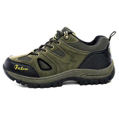 Outdoor Waterproof Hiking / Climbing Shoes for WomenWomens Sneakers<br>Outdoor Waterproof Hiking / Climbing Shoes for Women<br><br>Contents: 1 x Pair of Shoes<br>Materials: Rubber, Suede<br>Occasion: Casual<br>Outsole Material: Rubber<br>Package Size ( L x W x H ): 33.00 x 22.00 x 11.00 cm / 12.99 x 8.66 x 4.33 inches<br>Package Weights: 1.07kg<br>Seasons: Autumn,Spring,Winter<br>Style: Leisure, Casual<br>Type: Hiking Shoes<br>Upper Material: Suede
