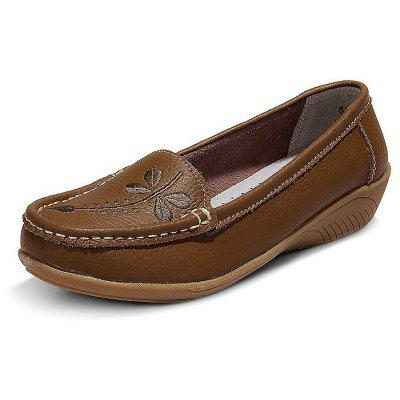 Women Handcrafted Genuine Leather Casual Shoes