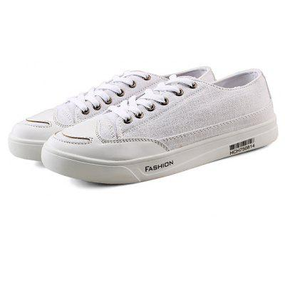 Buy WHITE 40 Fashion Denim Casual Skateboarding Shoes for Women for $26.30 in GearBest store