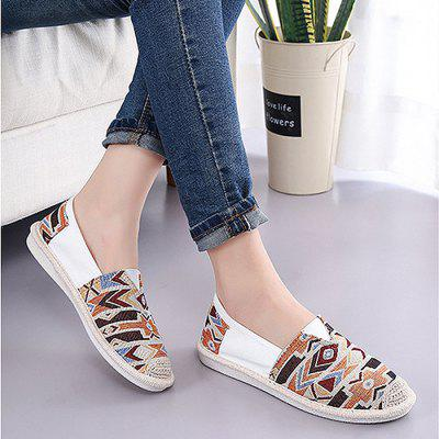 Trendy Canvas Slip-on Lazy Shoes for Women