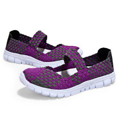 Handcrafted Hollow Out Flat Casual Summer Shoes for WomenWomens Sneakers<br>Handcrafted Hollow Out Flat Casual Summer Shoes for Women<br><br>Closure Type: Slip-On<br>Contents: 1 x Pair of Shoes<br>Function: Slip Resistant<br>Materials: Rubber, Woven Fabric<br>Outsole Material: Rubber<br>Package Size ( L x W x H ): 31.00 x 21.00 x 11.00 cm / 12.2 x 8.27 x 4.33 inches<br>Package Weights: 0.70kg<br>Style: Casual<br>Type: Casual Shoes