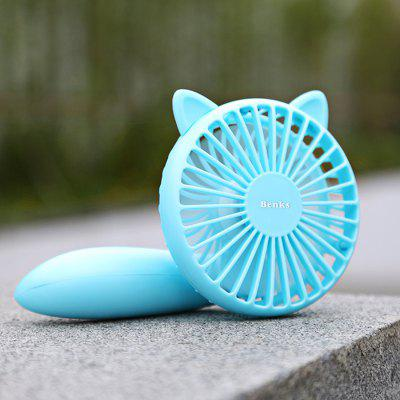 Benks F11 Handheld Rechargeable Mini Cooling FanOther Cell Phone Accessories<br>Benks F11 Handheld Rechargeable Mini Cooling Fan<br><br>Battery Capacity (mAh): 1200mAh<br>Brand: Benks<br>Model: F11<br>Package Contents: 1 x Mini Fan, 1 x USB Cable<br>Package size (L x W x H): 12.40 x 9.20 x 14.00 cm / 4.88 x 3.62 x 5.51 inches<br>Package weight: 0.2170 kg<br>Product size (L x W x H): 19.00 x 10.00 x 5.70 cm / 7.48 x 3.94 x 2.24 inches<br>Product weight: 0.1230 kg