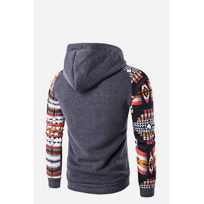 Male Stylish Ethnic Style Front Pocket Raglan Sleeve Hooded SweatshirtMens Hoodies &amp; Sweatshirts<br>Male Stylish Ethnic Style Front Pocket Raglan Sleeve Hooded Sweatshirt<br><br>Package Contents: 1 x Hoodie<br>Package size: 20.00 x 20.00 x 2.00 cm / 7.87 x 7.87 x 0.79 inches<br>Package weight: 0.4600 kg<br>Product weight: 0.4000 kg
