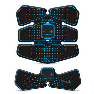 Buy BLUE IMATE IM 05S Click Smart Muscle Stimulator Training Gear for $52.21 in GearBest store