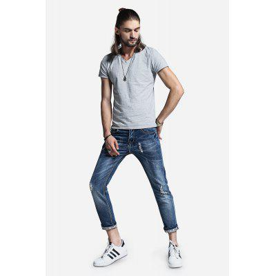 Men Straight Leg Jeans PantsMens Pants<br>Men Straight Leg Jeans Pants<br><br>Material: Cotton, Spandex<br>Package Contents: 1 x Pants<br>Package size: 30.00 x 35.00 x 2.00 cm / 11.81 x 13.78 x 0.79 inches<br>Package weight: 0.5200 kg<br>Product weight: 0.4800 kg